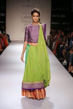 LAKMÉ FASHION WEEK WINTER/FESTIVE 2014 | SOUMITRA MONDAL AND VAISHALI SHADANGULE | Stylish By Nature | India Fashion Style Blog | Beauty | Food | Fitness | Travel