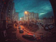 #город #ночь #Москва #район #двор