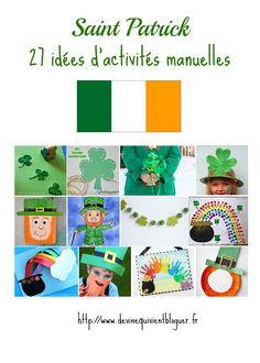 Saint Patrick: 27 idées d'activités manuelles pour les enfants   Devine Qui Vient Bloguer?