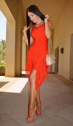 LAURA BADURA beautiful dress