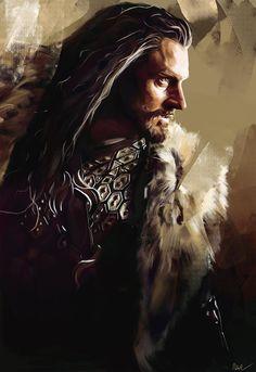 Thorin Oakenshield by Namecchan.deviantart.com on @deviantART