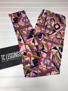 db17806ae21a02 tc lularoe leggings nwt Gold pink Purple Free Shipping Rare HTF Aztec  #fashion #clothing