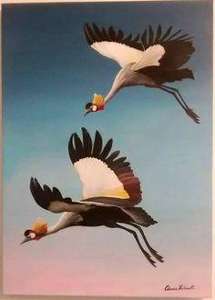 gru coronate in volo