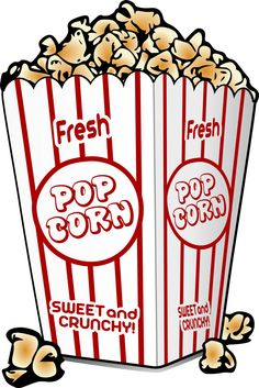 Popcorn Bucket Clipart Popcorn Coloring Page Popcorn Bag