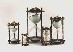"""TIME - buy someone time- give a different size hourglass to denote a certain amount of time """"off"""". After The Affair, Hourglass Sand Timer, Egg Timer, Sand Timers, Old Keys, Winter's Tale, Marriage Life, Pocket Watches, Sands"""