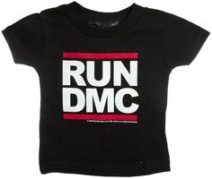 Walk this way...and get your little one in a hip throwback tee because it's like that, and that's the way it is.  #rundmc #kidsfashion #kidstshirts