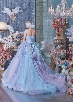 If you've ever wished upon a star to look like a princess, is your dream coming true! Fantastic Fairy Tale Wedding Dress Ideas, look like a Princess in your main day. Have the look that you deserve… Fairy Wedding Dress, Fairy Dress, Ball Gown Dresses, Prom Dresses, Bridal Gowns, Wedding Gowns, Fairytale Gown, Fantasy Gowns, Quinceanera Dresses