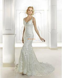 12adb7bc3db2 Cosmobella Wedding Gown Style 7696 maybe with a cape