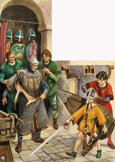 Ron Embleton - Caballeros normandos