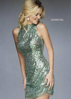 feb2e19145 Sherri Hill 1980  Sherri  Hill  Fall  2015  short  dress