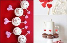 decoração dia dos namorados coração papel valentines cupcake dica da duda 03