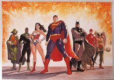 Justice League by Jack Herbert