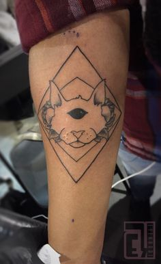 Custom design for @that_arcadian_chick! Tattooed this at the philly convention last weekend. Thank you for the support and welcome to the cool cat lady club #eyeKANDI #eyekandiink #ink #tattoo #tattoos #tatsoul #tattooartist #tattoooftheday #coolcat #sacredgeometry #blackworkers #tattooconvention #philly #philadelphia #Phillyconvention #villianarts #cat #ct #norwalk #organicinktattoo #bw #bnw #bw_life #geometry #photooftheday