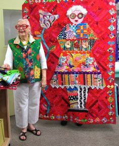Freddy Moran- Patchwork Collage Workshop at Stitchin Post Ma. Colorful Quilts, Landscape Quilts, Contemporary Quilts, Scrappy Quilts, Textile Artists, Applique Quilts, Fabric Art, Quilting Designs, Quilt Patterns