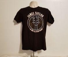 James Taylor Before This World 2016 Tour Adult Medium Black TShirt #Taylor #GraphicTee