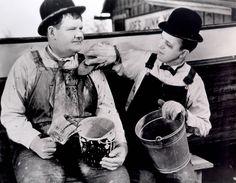 Laurel & Hardy...