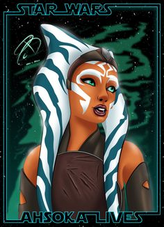 Star Wars Rebels - Ahsoka by RCBrock