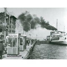 ✿ ❤ Bir Zamanlar İSTANBUL, Haydarpaşa iskelesi..#istanbul #turkey