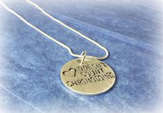 Love Doesn't Count Chromosomes necklace.