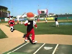 Because mascots like to have fun too!