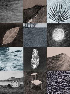 Evening - giclee print - Lizzy Stewart on etsy