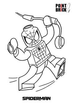 Spiderman Lego Disegno Da Colorare.Le Migliori 40 Immagini Su Lego Immagini Per Design Lego