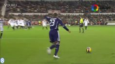 【足球天下】黄金右脚!貝克漢姆西甲一記超遠任意球破門 David Beckham Very Long-Distance Free-Kick  S...