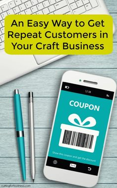 Bounce Back Offers to Get Repeat Customers in Your Silhouette Cameo or Cricut Explore Small Business - cuttingforbusiness.com