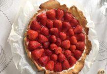 Tarte pâtissière aux fraises Weight Watchers