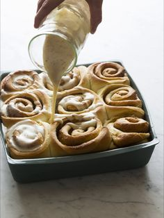 Browned Butter Cinnamon Rolls