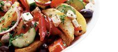 Perunasalaatti kreikkalaisittain | Pääruoat | Reseptit – K-Ruoka
