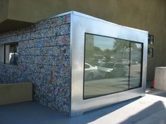 #Architecture, #Cans, #Recycled, #Wall