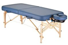 Earthlite Spirit 1/2 Reiki and 1/2 Standard Panel 30-Inch Portable Massage Table Package, Hunter ** See this great product.