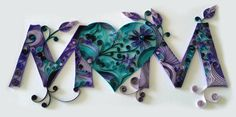 Quilling Mom by HalcyonCreativeGifts on Etsy