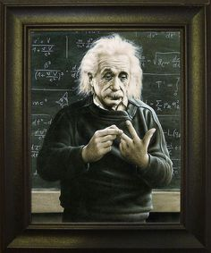 """Albert Einstein was a German-born theoretical physicistwho developed the general theory of relativity, effecting a revolution inphysics. For this achievement, Einstein is often regarded as the father ofmodern physics and the most influential physicist of the 20th century. While best known for hismass–energy equivalenceformulaE=mc2(which has been dubbed """"the world's most famous equation""""),he received the1921Nobel Prize in Physics""""for his services to theoretical physics, and…"""