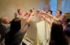 Kansas City Painting Parties, Adult Women Painting Party Ideas, Fundraiser Ideas, Girls Night In, Girls Night Out, Birthday Party Ideas, Bachelorette Party Ideas, Bunko Ideas