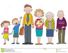 Illustration about A happy cartoon family with love concept. Illustration of child, brother, smile - 14935020 Family Picture Cartoon, My Family Picture, Family Stock Photo, Family Photos, About Me Activities, Art Activities, Cartoon Familie, Family Clipart, Family Roles