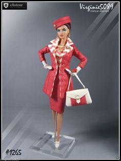 Tenue Outfit Accessoires Pour Fashion Royalty Barbie Silkstone Vintage 1265 | eBay
