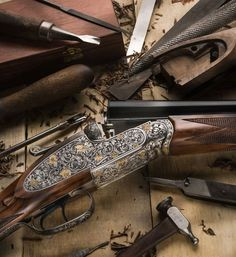 This is the official page of Gentleman Bobwhite, dedicated to the outdoor lifestyle and the pleasures of pursuing the gentleman of game birds: the bobwhite quail. Lever Action Rifles, Gun Rooms, Gun Art, Game Birds, Weapons Guns, Shotgun, Firearms, Gentleman, Hunting