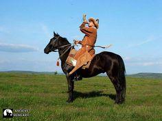 Hun-Magyar horseman