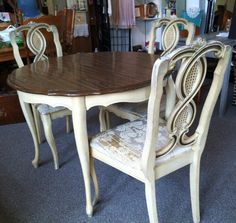Genial French Provincial Dining Room Set Paint To By MyLilFrenchFarmhouse, $899.00