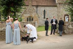 Vicar greeting dog flower girls for a wedding at Maidwell church in Northampton Photography Portfolio, Amazing Photography, Wedding Photography, Photography Ideas, Farm Wedding, Wedding Ceremony, Reception, Flower Girls, Big Day