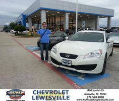 #HappyAnniversary to Dale Gieselman on your 2011 #Hyundai #Genesis Coupe from Bert Aguayo at Huffines Chevrolet Lewisville!