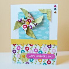 Scrapbook & Cards Today - Kathy Martin - Happy Mother's Day