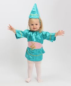 Halloween Baby: Infant Costumes  -  Turquoise Princess Dress-Up - Zulily