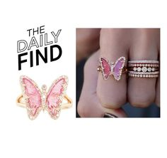 """""""The Daily Find: Luna Skye Ring"""" by polyvore-editorial ❤ liked on Polyvore featuring Luna Skye and DailyFind"""