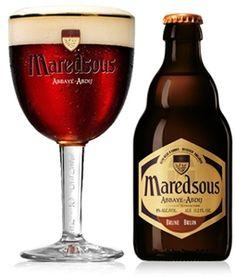 Maredsous Brune - Bierebel.com, la référence des bières belges