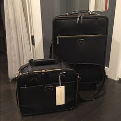 Exclusive authentication service & customer support. Free 1-3 day shipping for a limited time. Description: Retails $1,100! Is new with tags and never been used, pink interior, 4 wheels which makes it easy to glide! This suitcase/ travel bag is a huge deal off the retail price! 22 x 17 x 8. Sold by hdigiovine. Fast delivery, full service customer support.