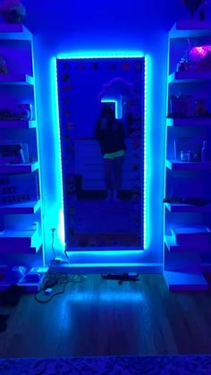 Vsco Room Tiktok Neon Room Aesthetic Room Decor Room Inspiration Bedroom