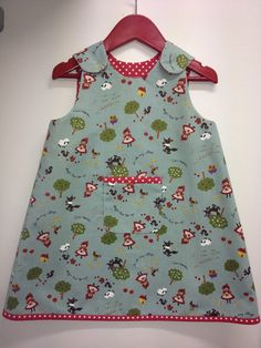 Girls Pinafore Dress Class 18 April - Love this wee dress! Girls Pinafore Dress, Sewing Crafts, Blouse, Fabric, Beautiful, Collection, Tops, Dresses, Women